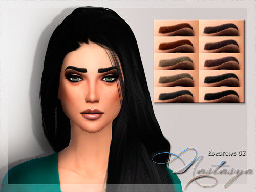 Nastas`ya: Eyebrows 02