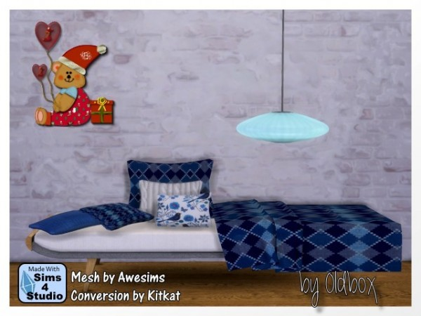 All4sims sofa by oldbox sims 4 downloads for Sofa bed sims 4