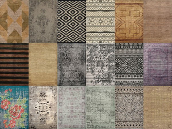 Mio Sims: Misc rugs