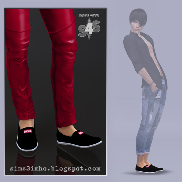 IMHO Sims 4: Male shoes