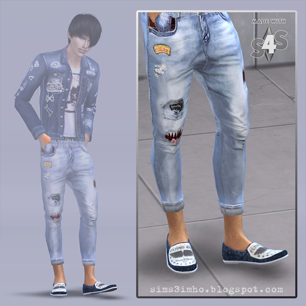 Imho Sims 4 Male Shoes Sims 4 Downloads