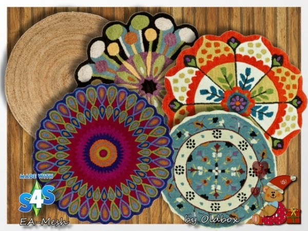 All4Sims: Rugs 6 by Oldbox