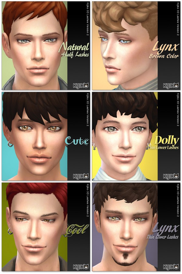 how to download lashes for sims 4