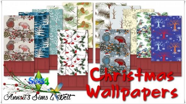 Annett`s Sims 4 Welt: Christmas Wallpapers