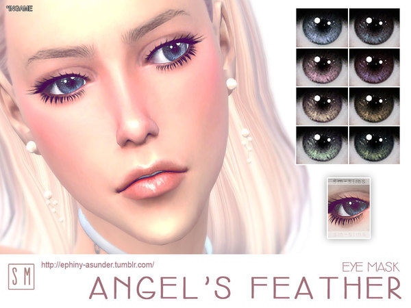 The Sims Resource: Angels Feather    Eye Mask by Screaming Mustard