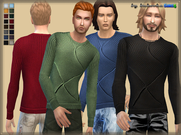 The Sims Resource: Sweater Overlap by Bukovka