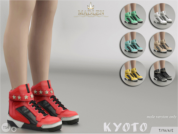 The Sims Resource: Madlen Kyoto Sneakers by MJ95