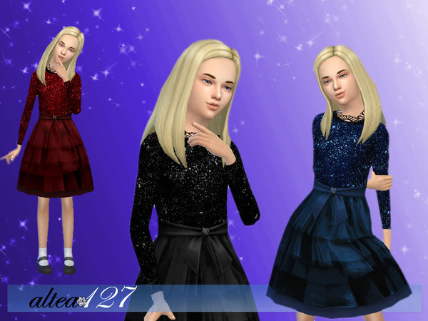 The Sims Resource: Bright Night child by Altea127