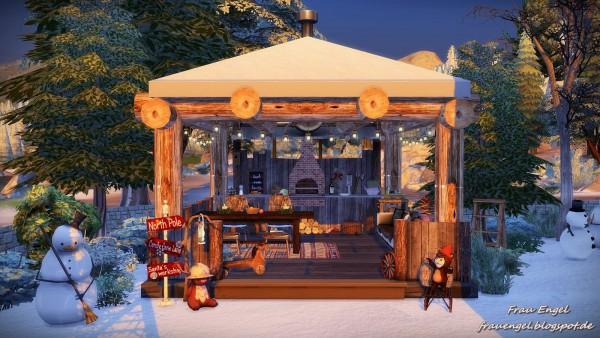 Frau Engel: Christmas Cottage for Living Sims