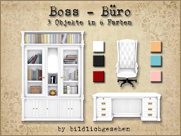 Akisima Sims Blog: Boss office