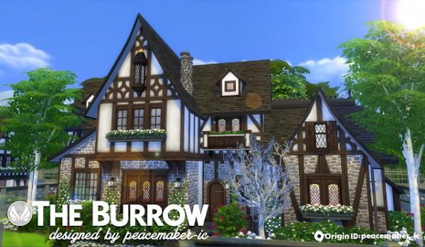 Simsational designs: The Burrow   A Tudor House for Windenburg
