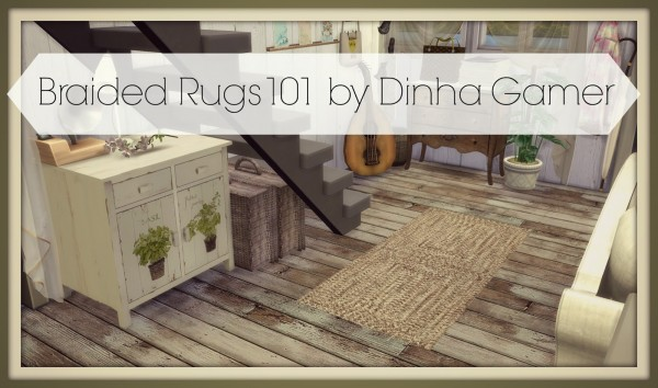 Dinha Gamer: Braided Rugs 101