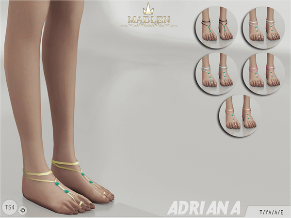 The Sims Resource: Madlen Adriana Feet by MJ95