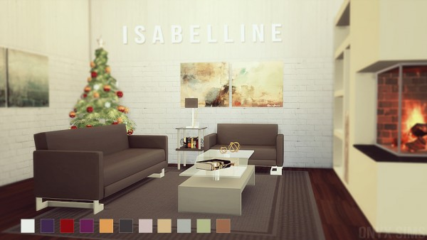 Onyx Sims: Isabelline livingroom