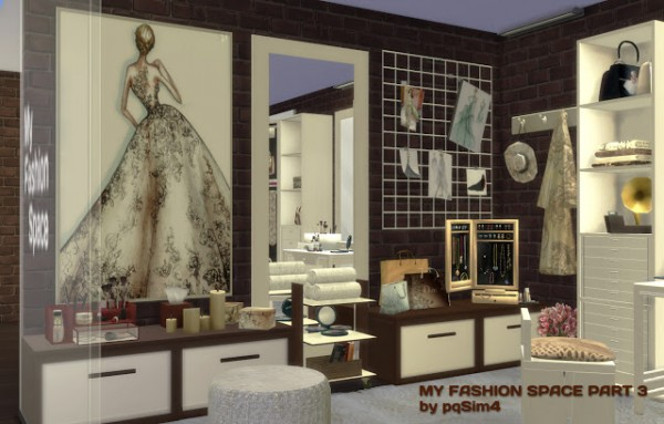 PQSims4: My Fashion Space   Part 3