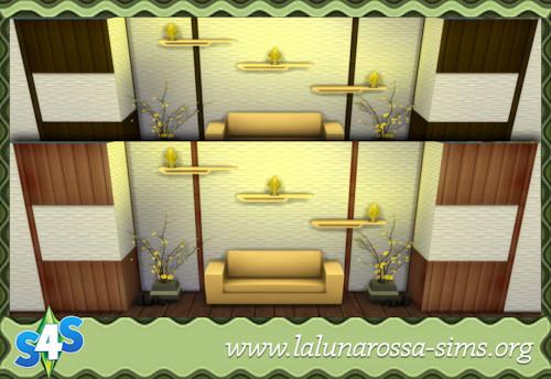 La Luna Rossa Sims: High Quality Panels