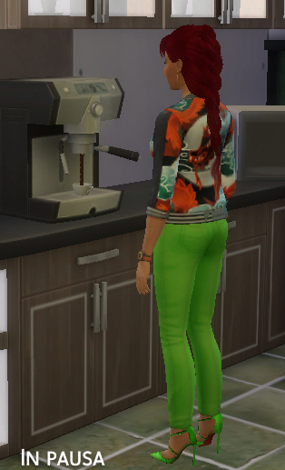 Mod The Sims: Espresso machine give more energy by catalina 45