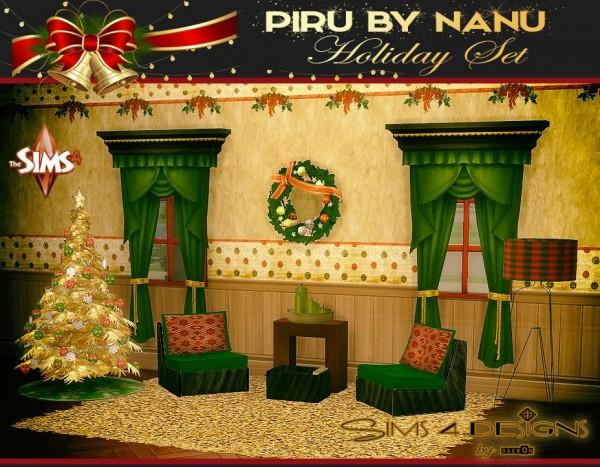 Sims 4 Designs: Piru by Nanu Holiday Set