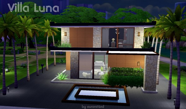 Sims My Homes: Villa Luna