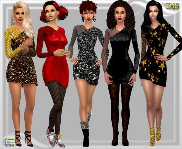 Dreaming 4 Sims: Shine on short dress