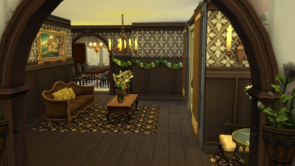 Mod The Sims: Olmstead Estate   Holiday Mansion by Christine11778