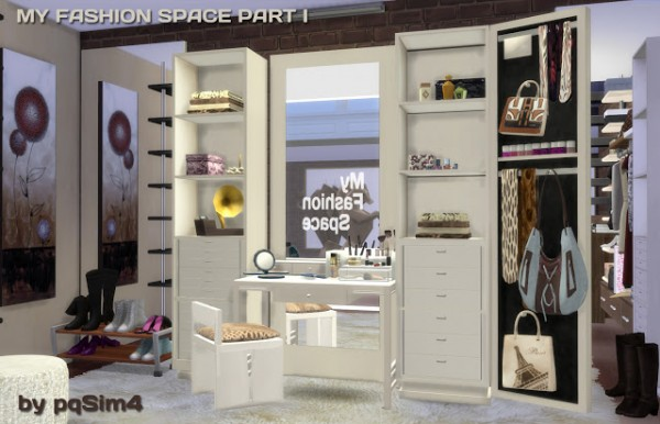 Pqsims4 My Fashion Space Part I Sims 4 Downloads