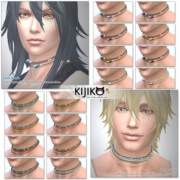 Kijiko: Men's Strap Chokers