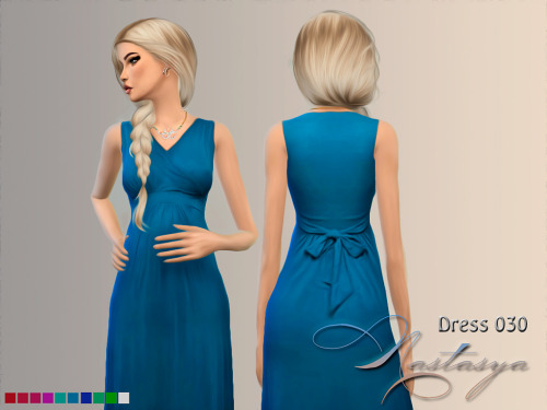 Nastas`ya: Dress Maternity Sleeveless Maxi 030