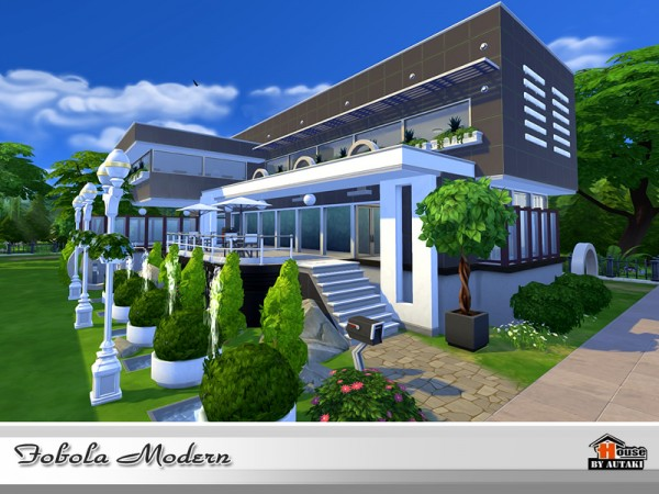 The Sims Resource: Fobola Modern by Autaki
