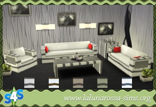 La Luna Rossa Sims: IL Moderno Living Room