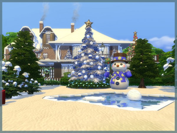 The Sims Resource: Mary Christmas 2015 by Danuta720