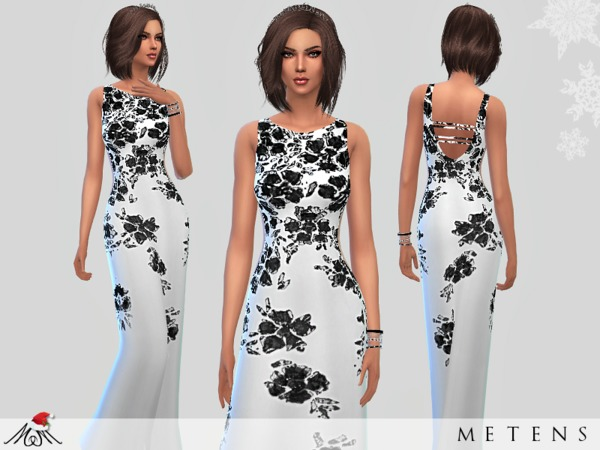 The Sims Resource: Whispers   Gown by Metens