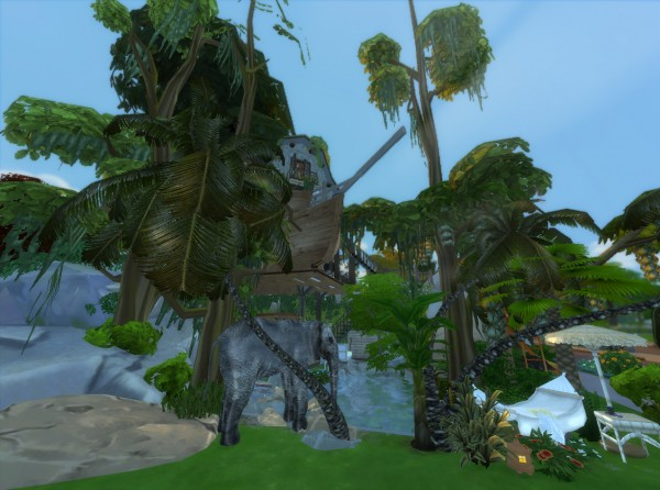 Mod The Sims Jungle Adventure By Artrui Sims 4 Downloads