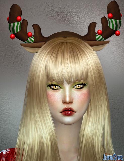 Jenni Sims: Xmas Reindeer horns