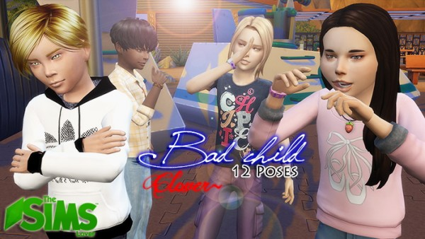 The Sims Lover Bad Child By Clover Sims 4 Downloads