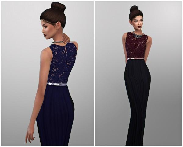 Kenzar Sims: Gabriel dress