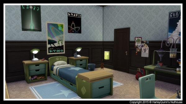 Harley Quinn Nuthouse: The Goths Sims 2