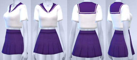 Manueapinny Sailor Uniform Sims 4 Downloads