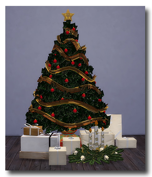 Msteaqueen: Christmas Tree, Gifts, & Painting converted from TS2 ...