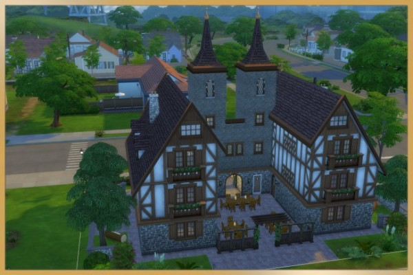 Blackys Sims 4 Zoo: Cofee and oldie disco by Schnattchen