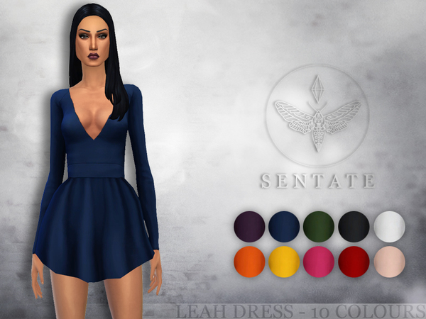 The Sims Resource: Leah Dress by Sentate