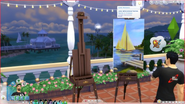 Mod The Sims: A set of Crafting Enhancement Mods for Author and Artist sims by coolspear1