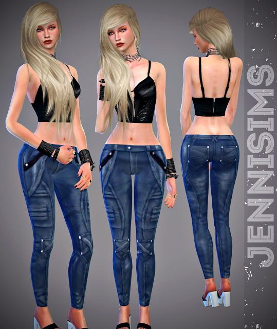 Jenni Sims: Jeans Pants Wrapped
