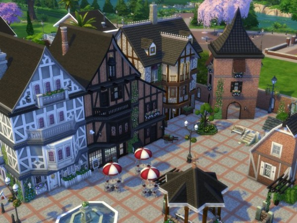 All4Sims: Cafe, shopping and more