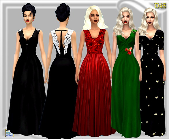 Dreaming 4 Sims: Wing Gown