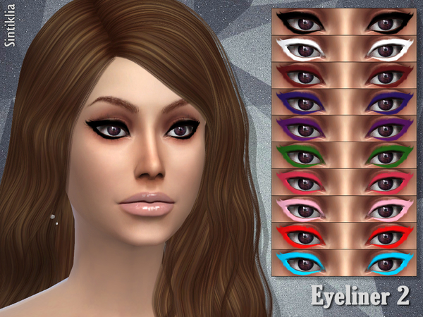 The Sims Resource: Eyeliner 2 by Sintiklia