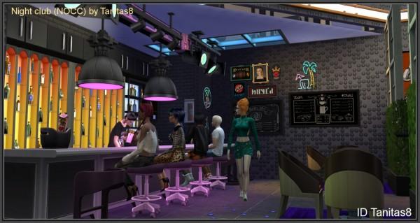 Tanitas Sims Night Club Sims 4 Downloads