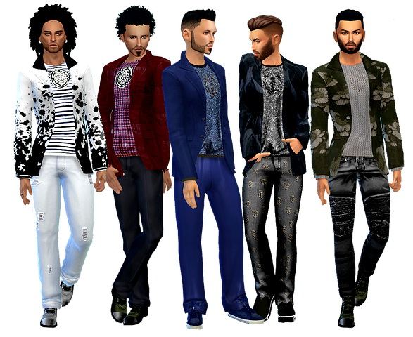 Dreaming 4 Sims: NY Weekend jacket