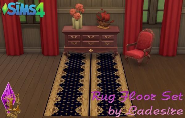 Ladesire Creative Corner: Rug Floor Set