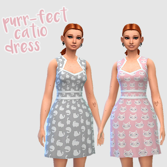 Hamburgercakes: Purr fect Catio Dress
